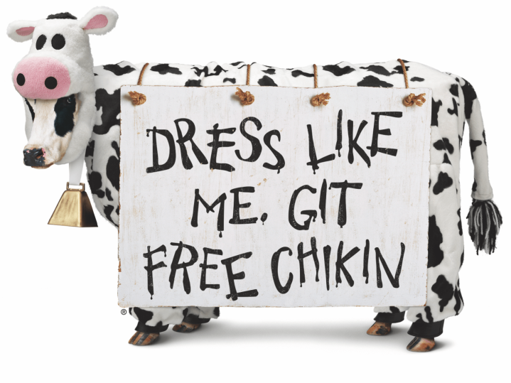 Chick-Fil-A Cow Costume DIY